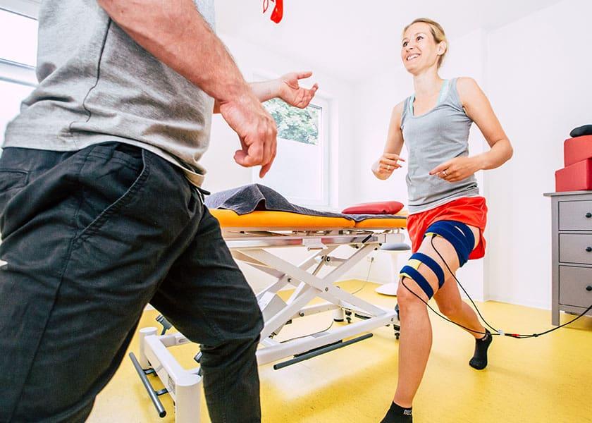 Physiotherapie - Elektrotherapie