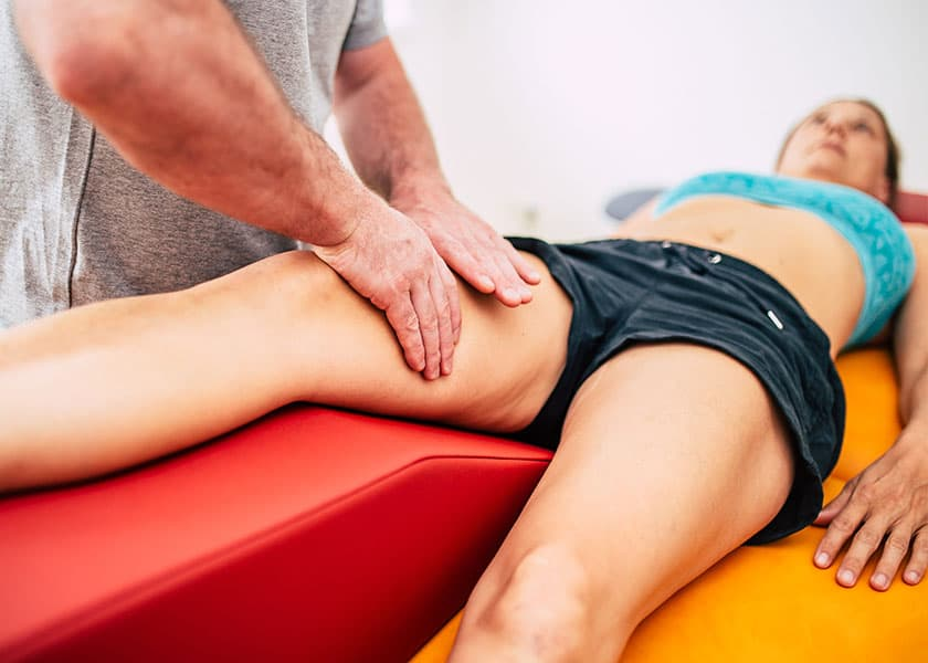 Physiotherapie - Manuelle Lymphdrainage