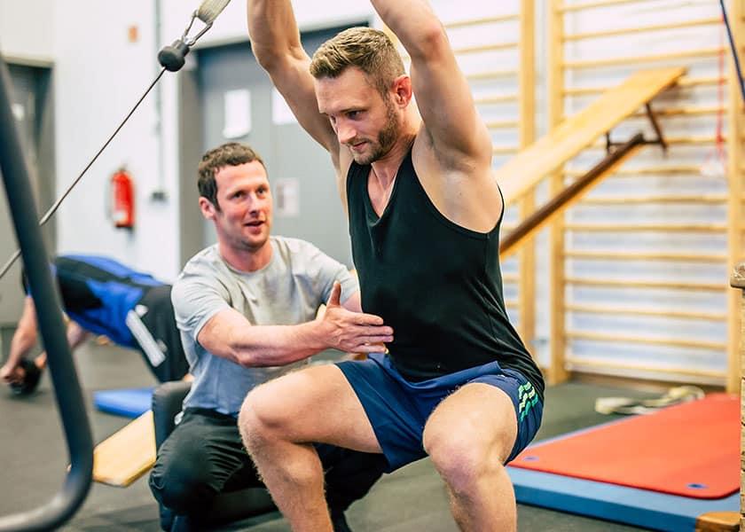 Spezialisierung Sporttherapie